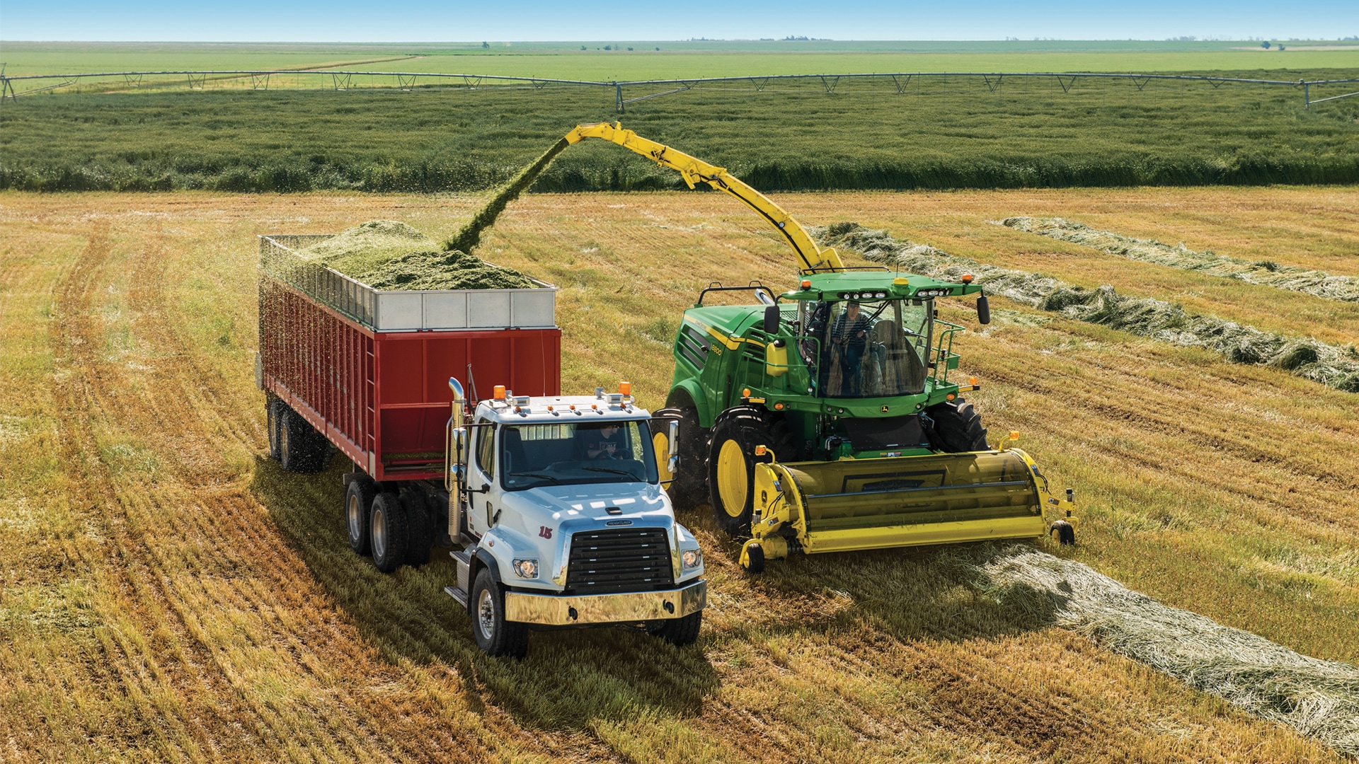 spfh moving product in a field