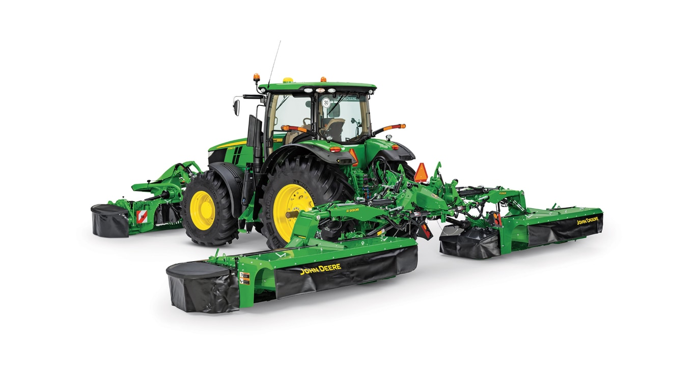Studio image of R990R Rear Mount Mower Conditioner