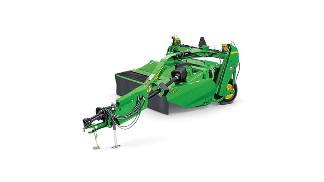 studio image of s350 mower conditioner