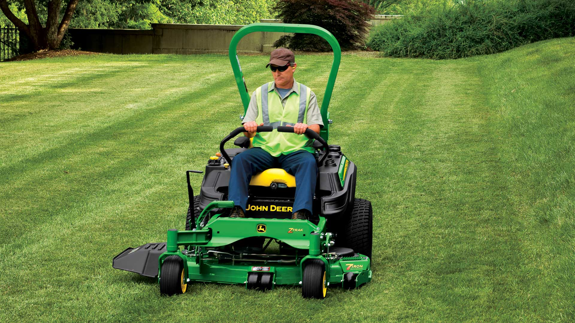 Commercial mower ja...wunderbar!