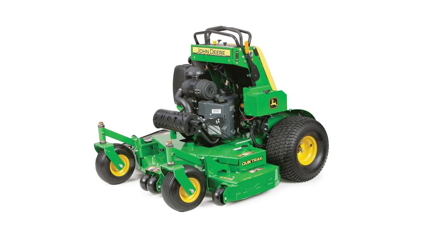 Commercial Mowers | QuikTrak Stand-On Mowers | John Deere US