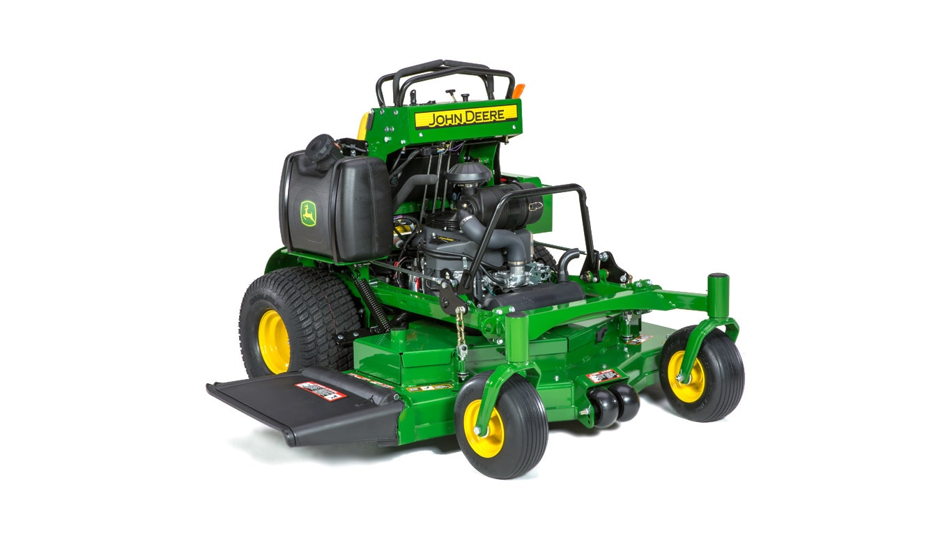 Commercial mower first and