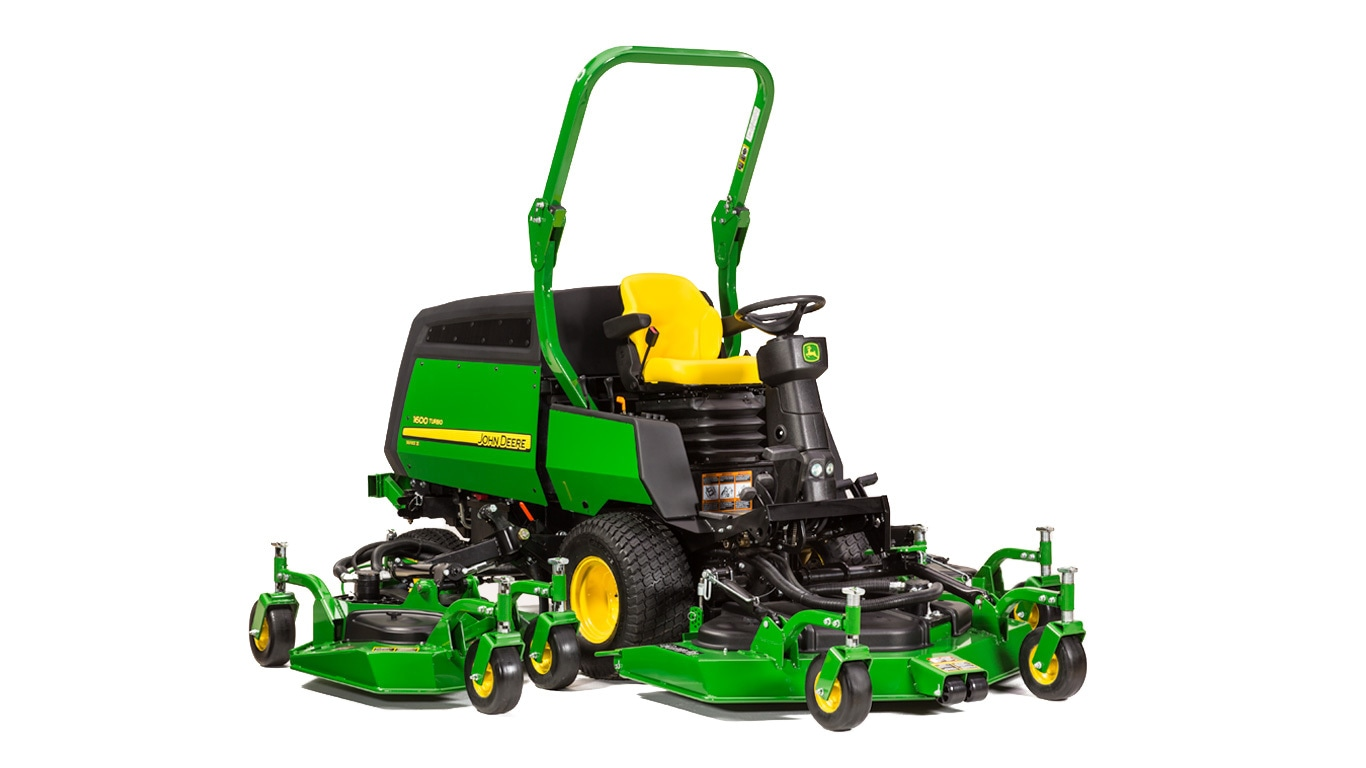1600 Turbo Series III | Wide Area Mowers | John Deere US