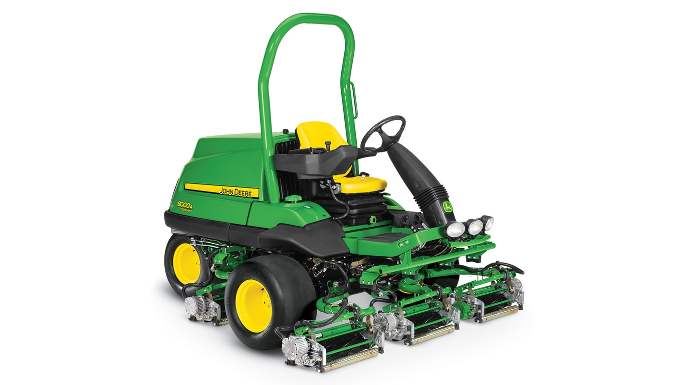 Studio image of a 8000a Ecut Fairway Mower