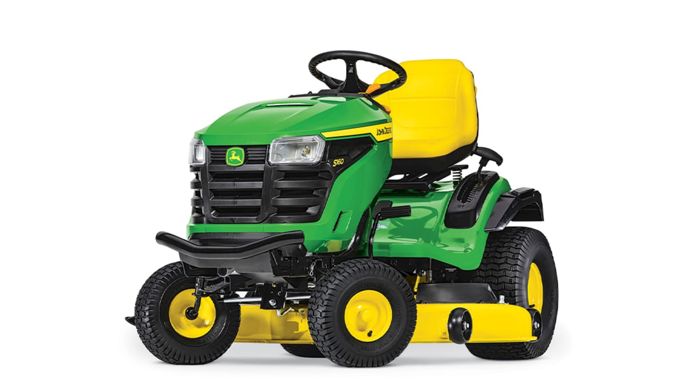 studio image of the S160 lawn mower