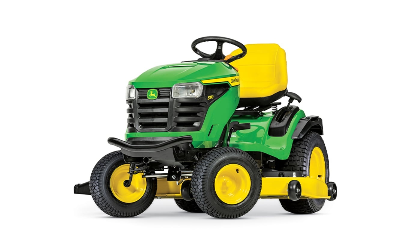 studio image of the S180 lawn mower