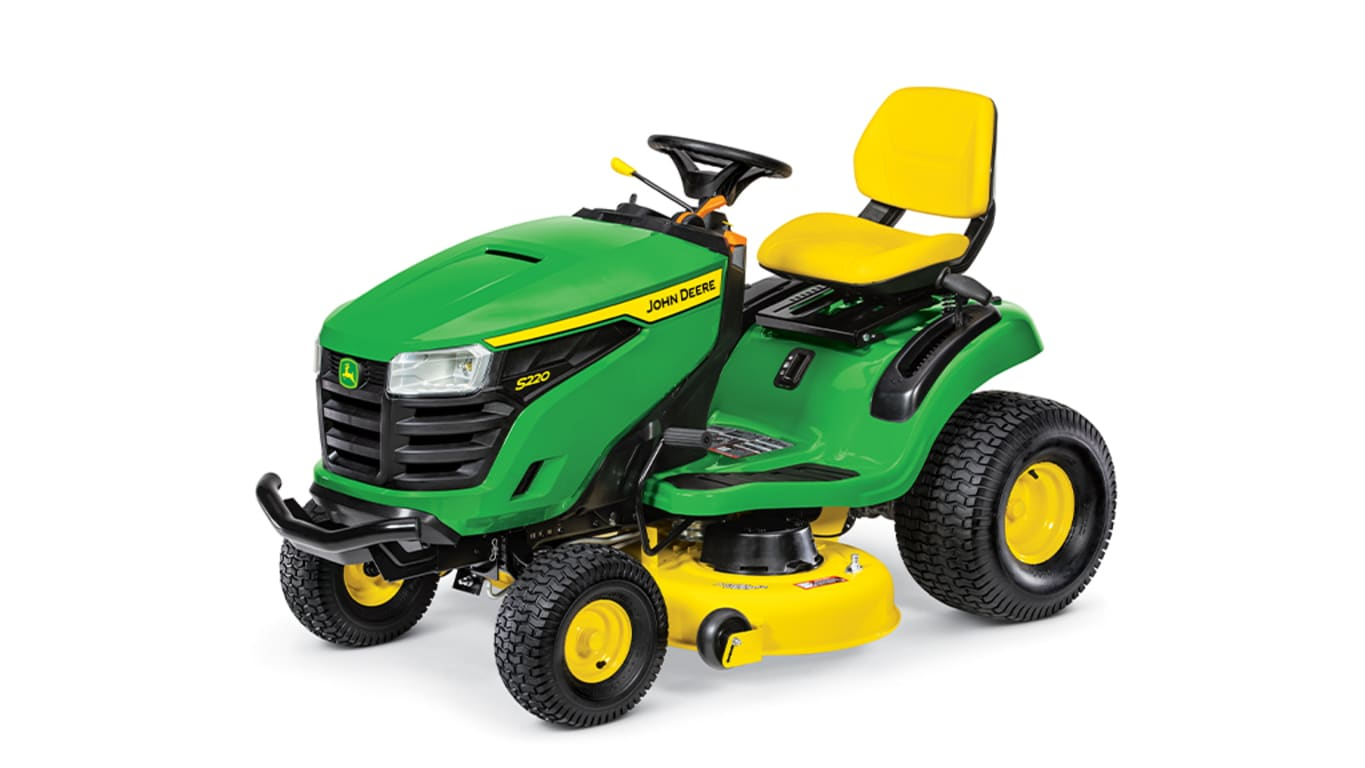 Studio image of S220 Lawn Tractor