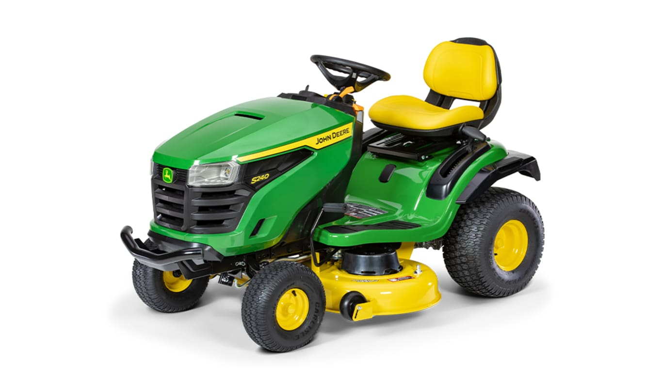 "Studio image of S240, 42"" lawn tractor"