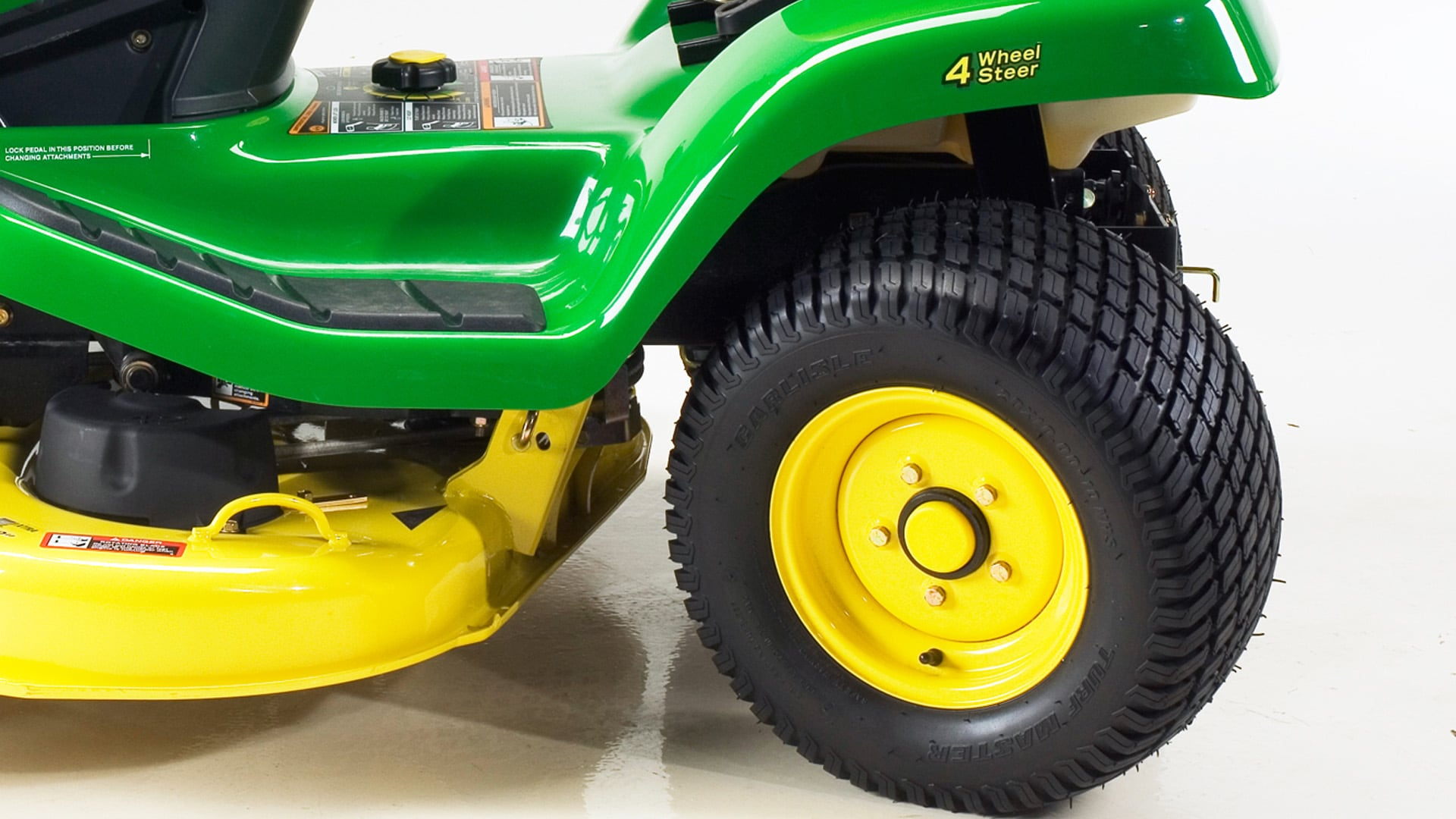 4 Wheel Steer Tractors : Lawn tractors select series john deere us