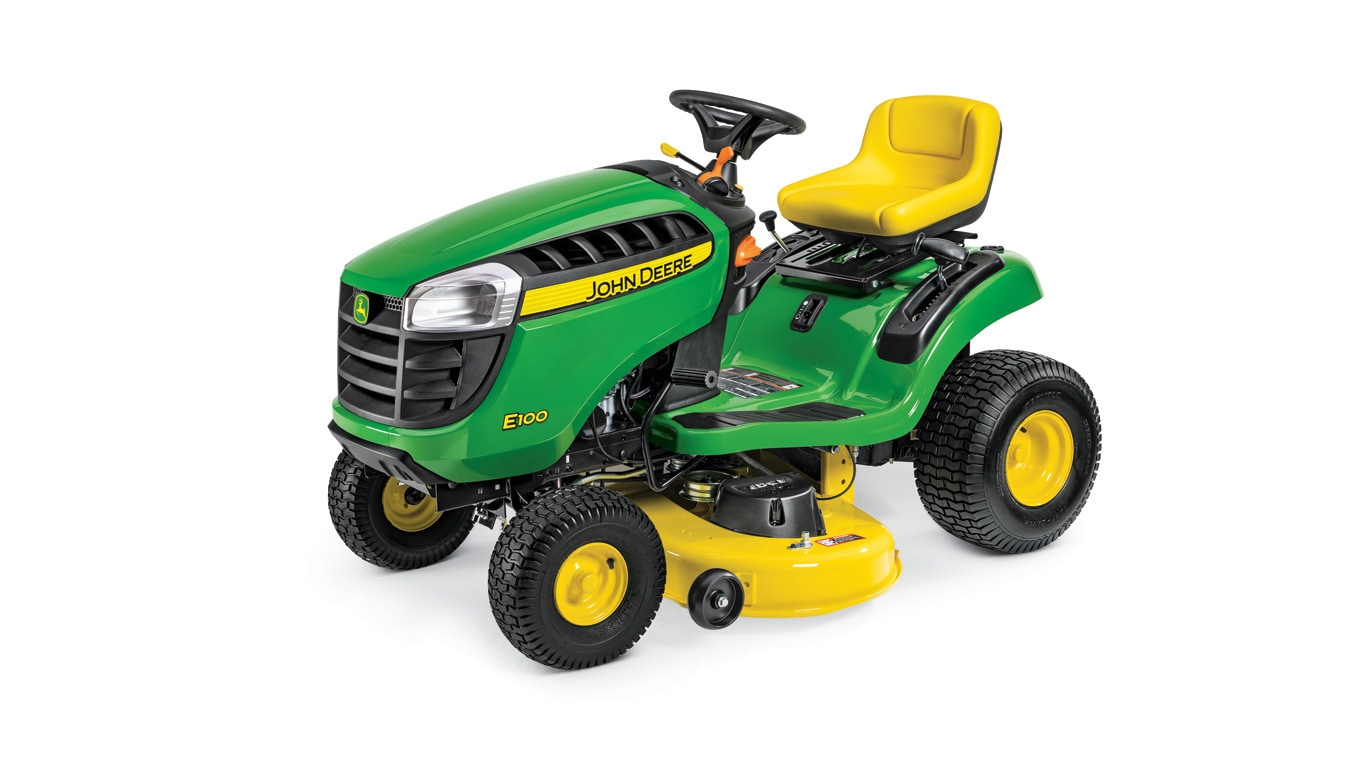 The Lt1000 Lawn Tractor Its Features Accessories And Where To >> Lawn Tractor E100 17 5 Hp John Deere Us