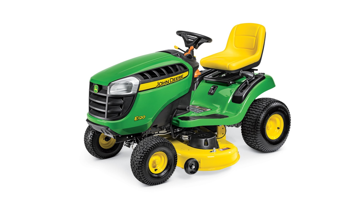 E120 Lawn Tractor | Riding Mowers | 20 HP | John Deere US