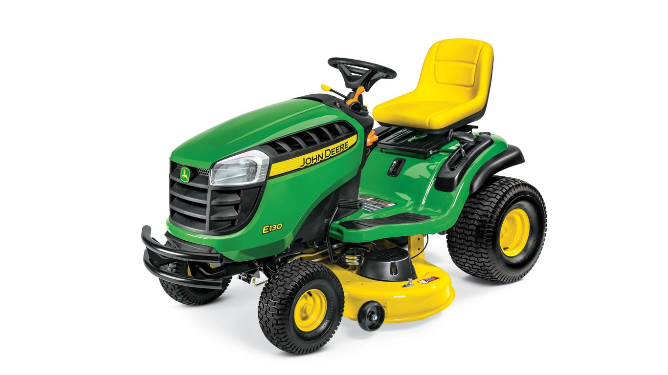 Lawn Tractor | E130 | 22 HP | John Deere US on