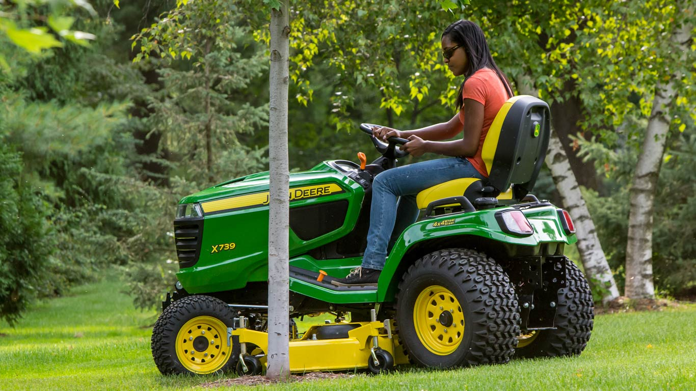 Lawn Tractors X300 Select Series Johnnbspdeere Us Does Anyone Have A Mowing Belt Diagram For John Deere Lx Build Your Own