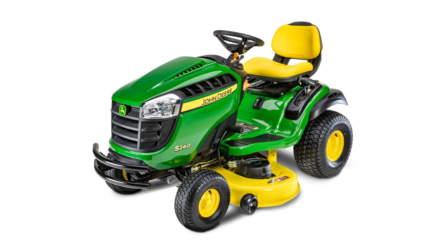 S240lawn Tractor With 42 In Deck