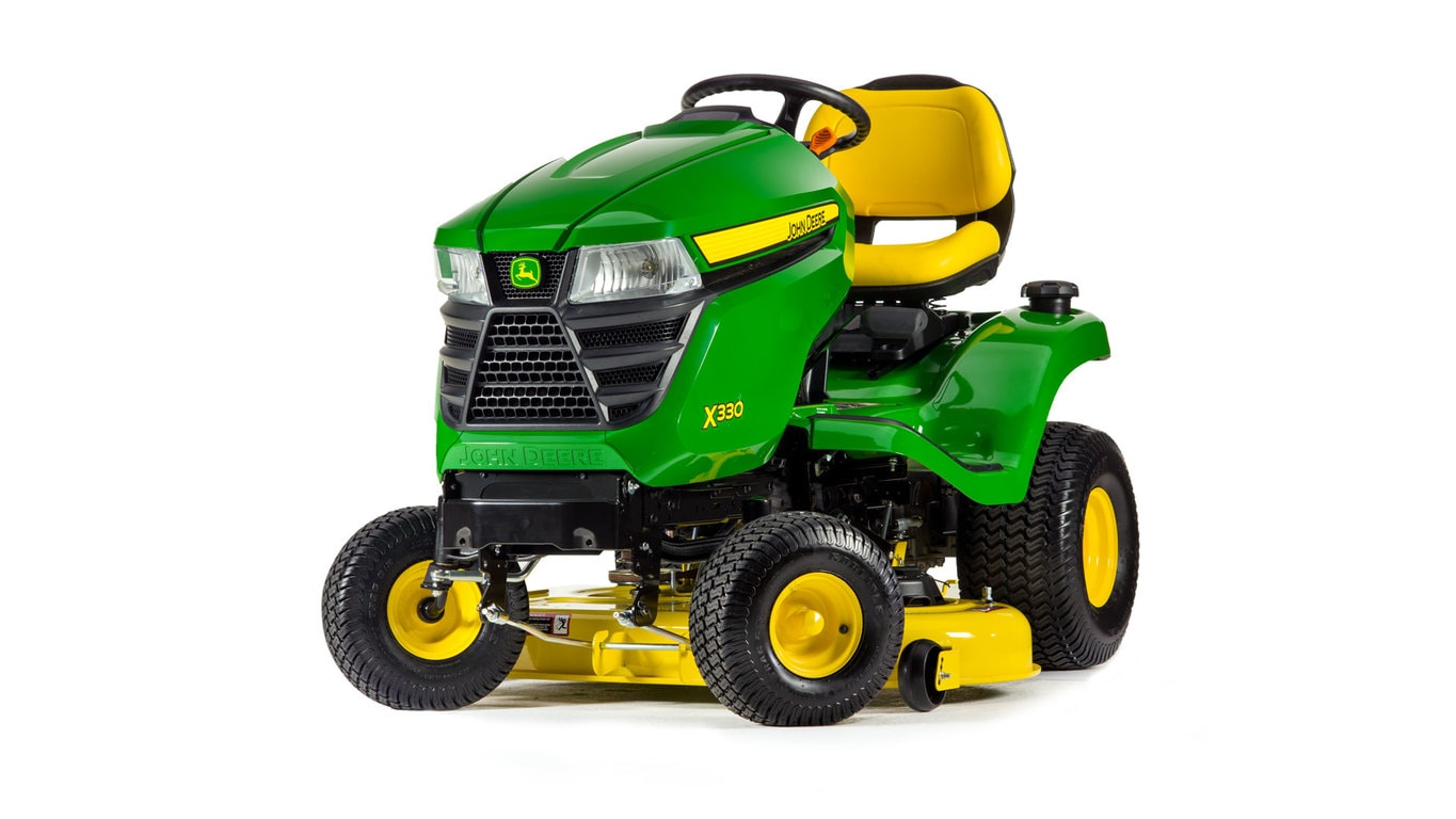 studio image of the X330 Series lawn mower