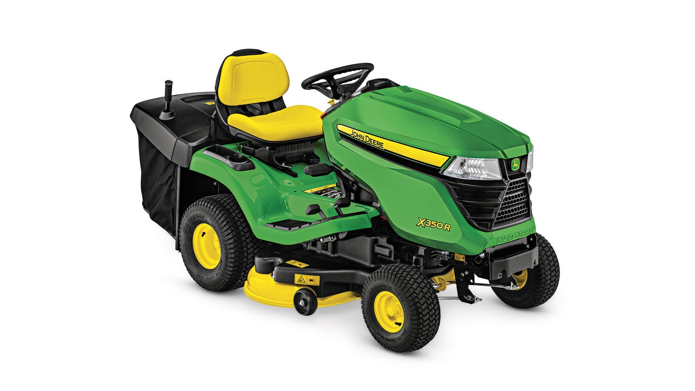 studio image of the X350R series lawn mower
