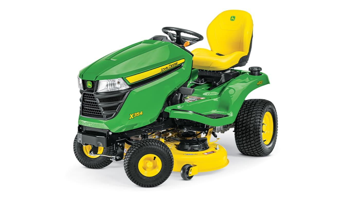 Studio image of X354 Lawn Tractor
