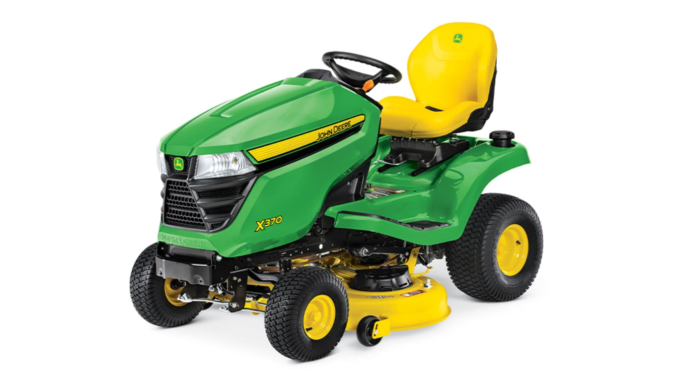 Studio image of X370 Lawn Tractor