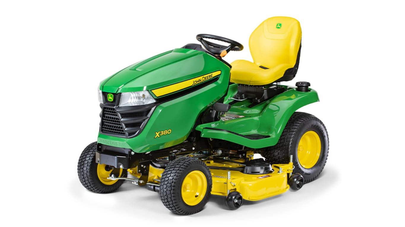 Studio image of X380, 48-inch Lawn Tractor