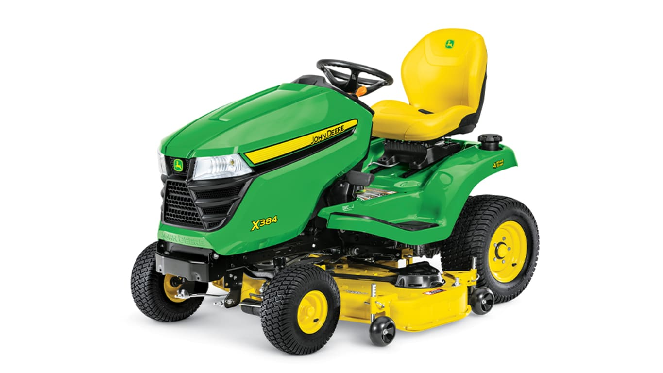Studio image of X384 Lawn Tractor