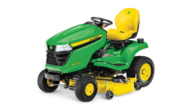 X384 Lawn Tractor with 48-inch Deck