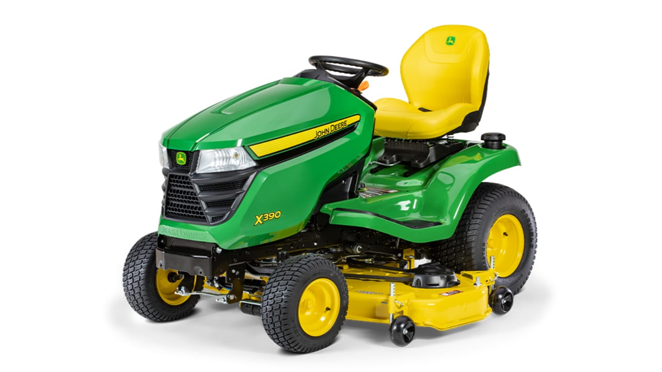 Studio image of X390 Lawn Tractor