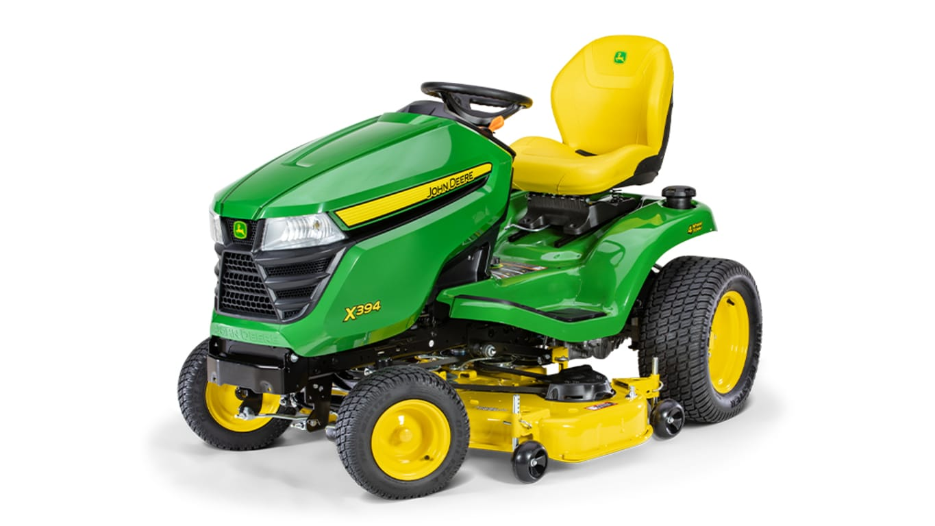 Studio image of X394 Lawn Tractor