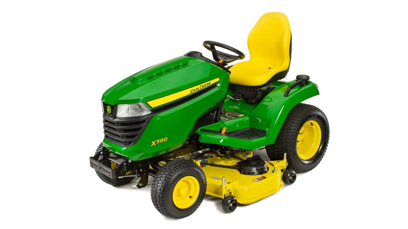 X500 Select Series Lawn Tractor | X590, 48-in. Deck | John ... on
