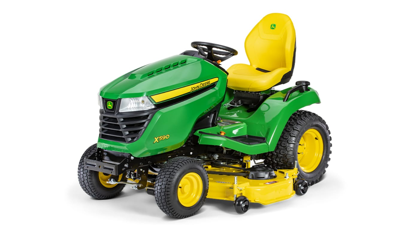 Studio image of X590, 54-in. Lawn Tractor