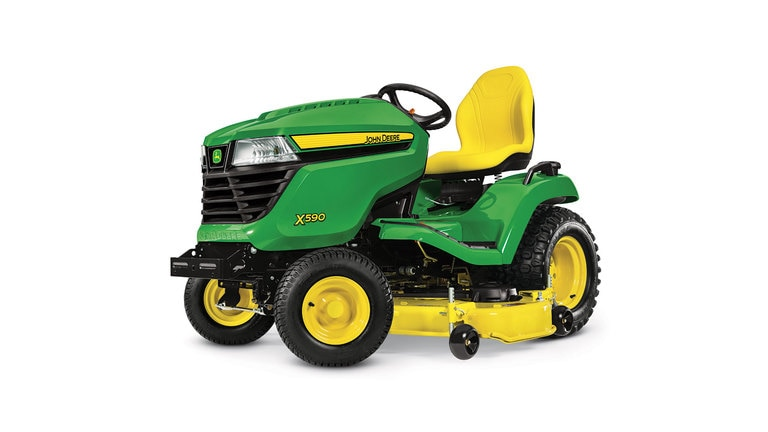 0% APR fixed rate for 48 Months¹ on New John Deere X500 Select Series Lawn Tractors