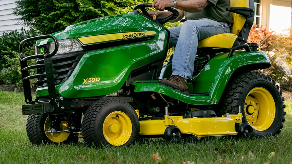 image of x500 series lawn mower