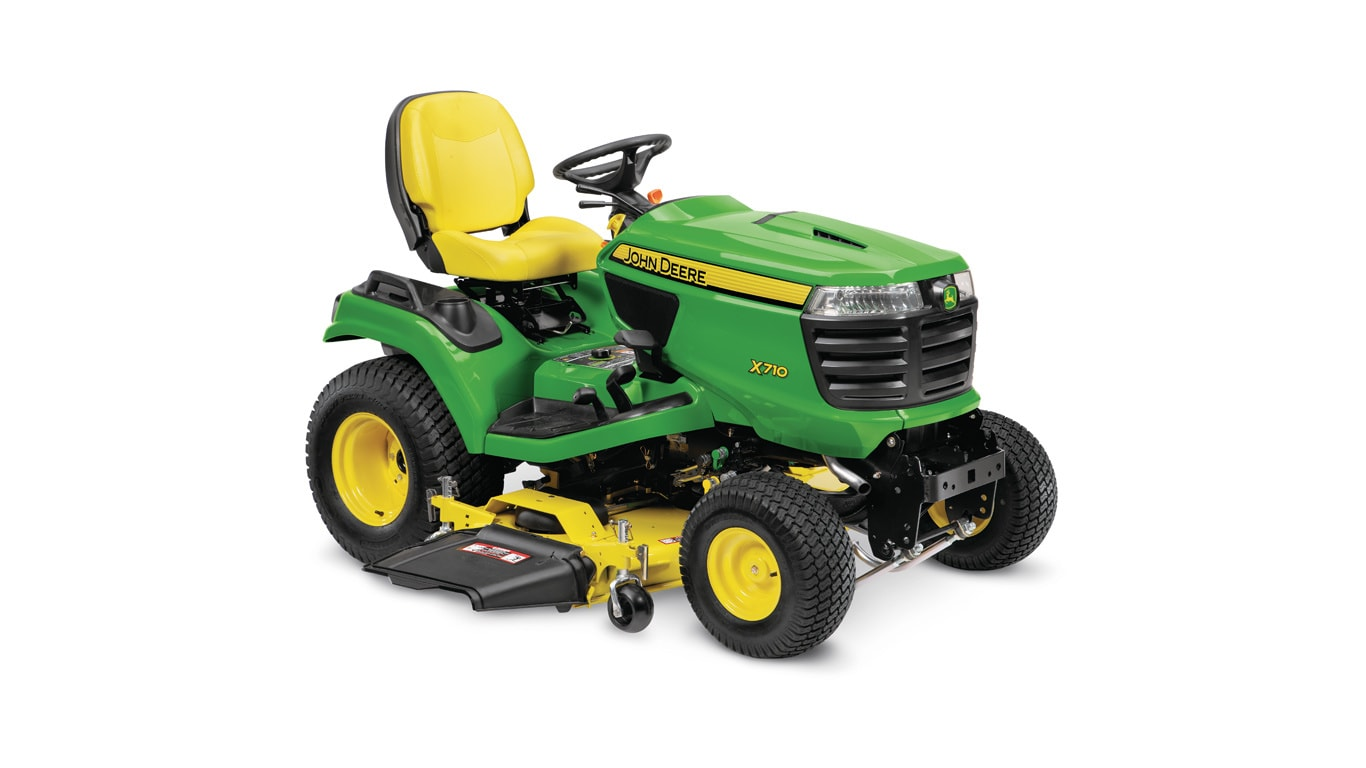 studio image of x710 Signature Series lawn tractor