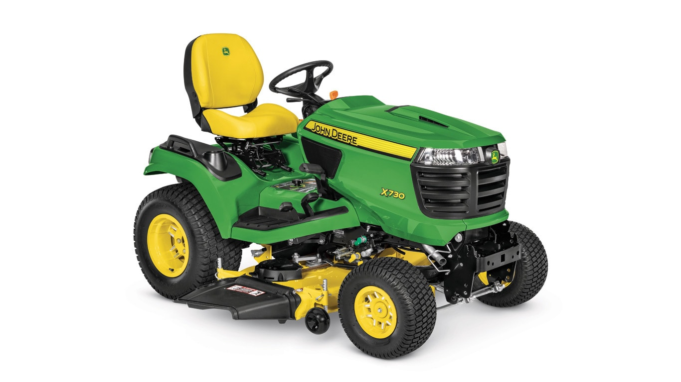 Studio image of x730 w/48 in mower
