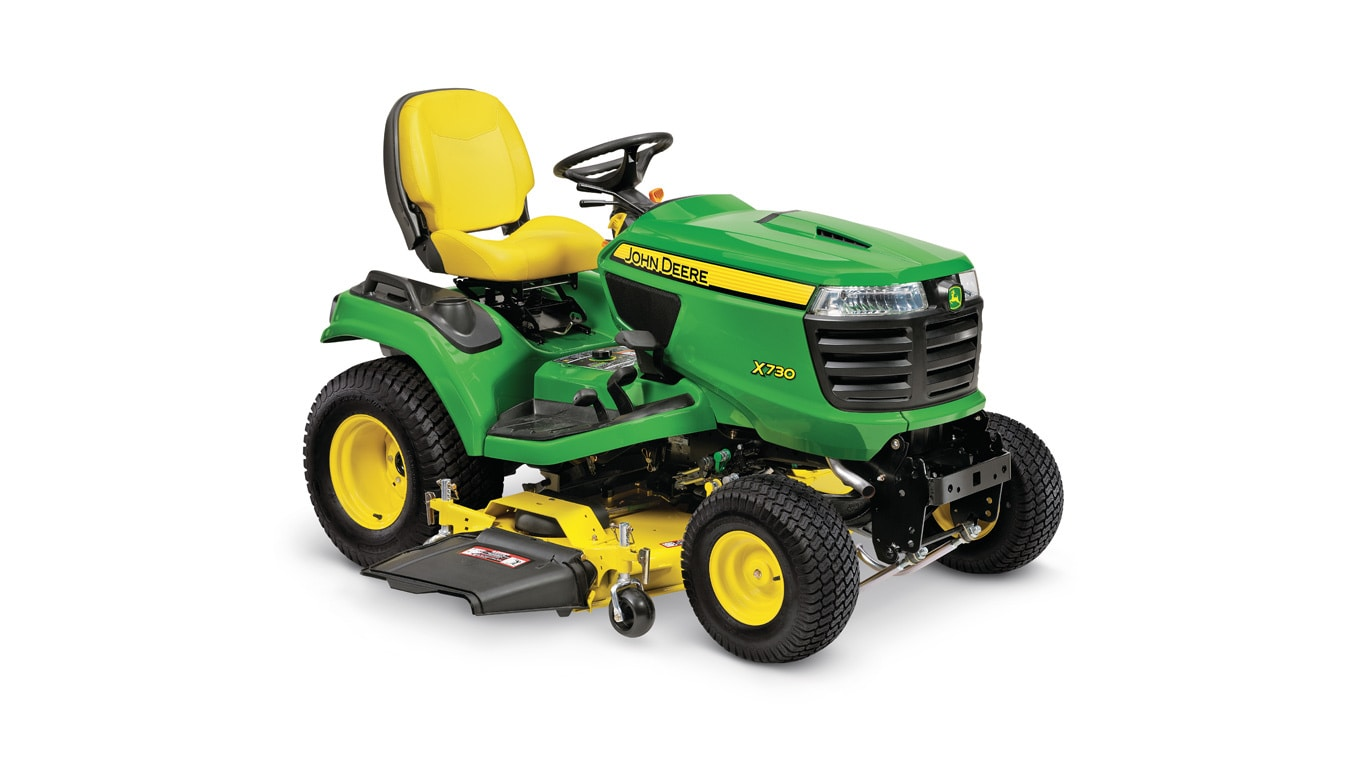 studio image of x730 Signature Series lawn tractor.