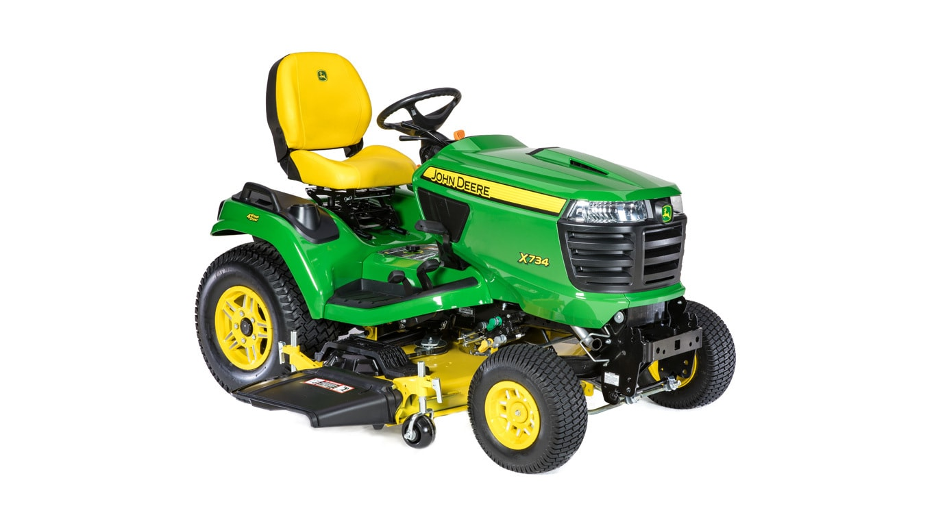4-Wheel Steering Riding Mower | X734 | John Deere US