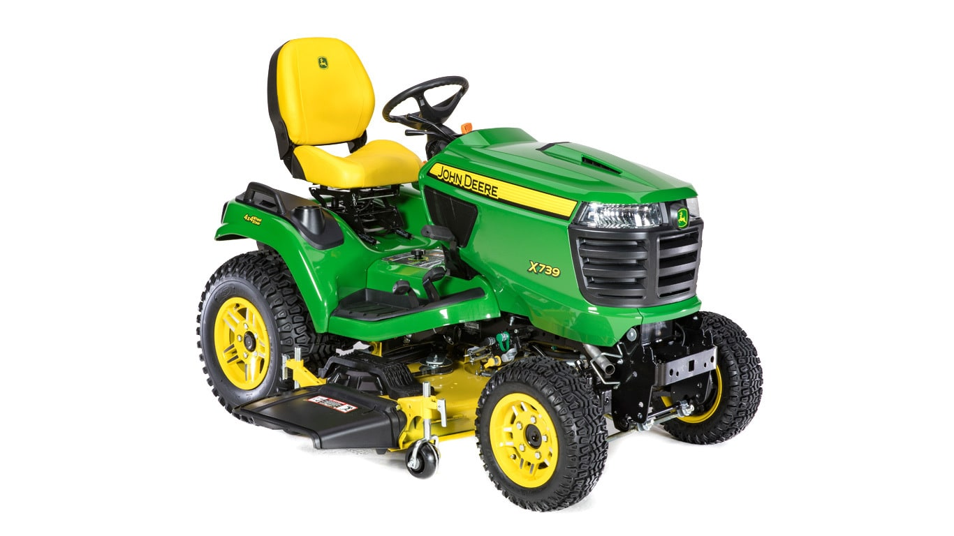 4-Wheel Steering Lawn Tractor | X739 | Signature Series ... on