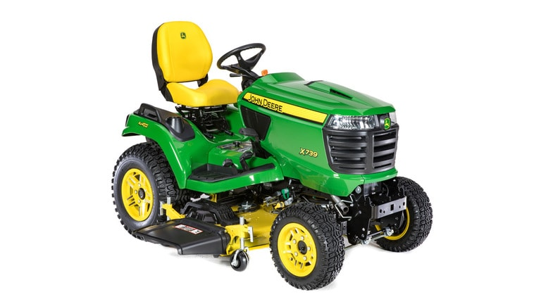 studio image of x739 Signature Series mower with 54 inch deck