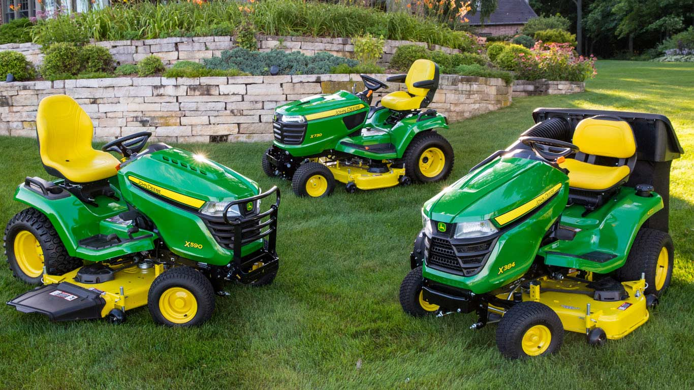 Lawn Tractors Riding Mowers