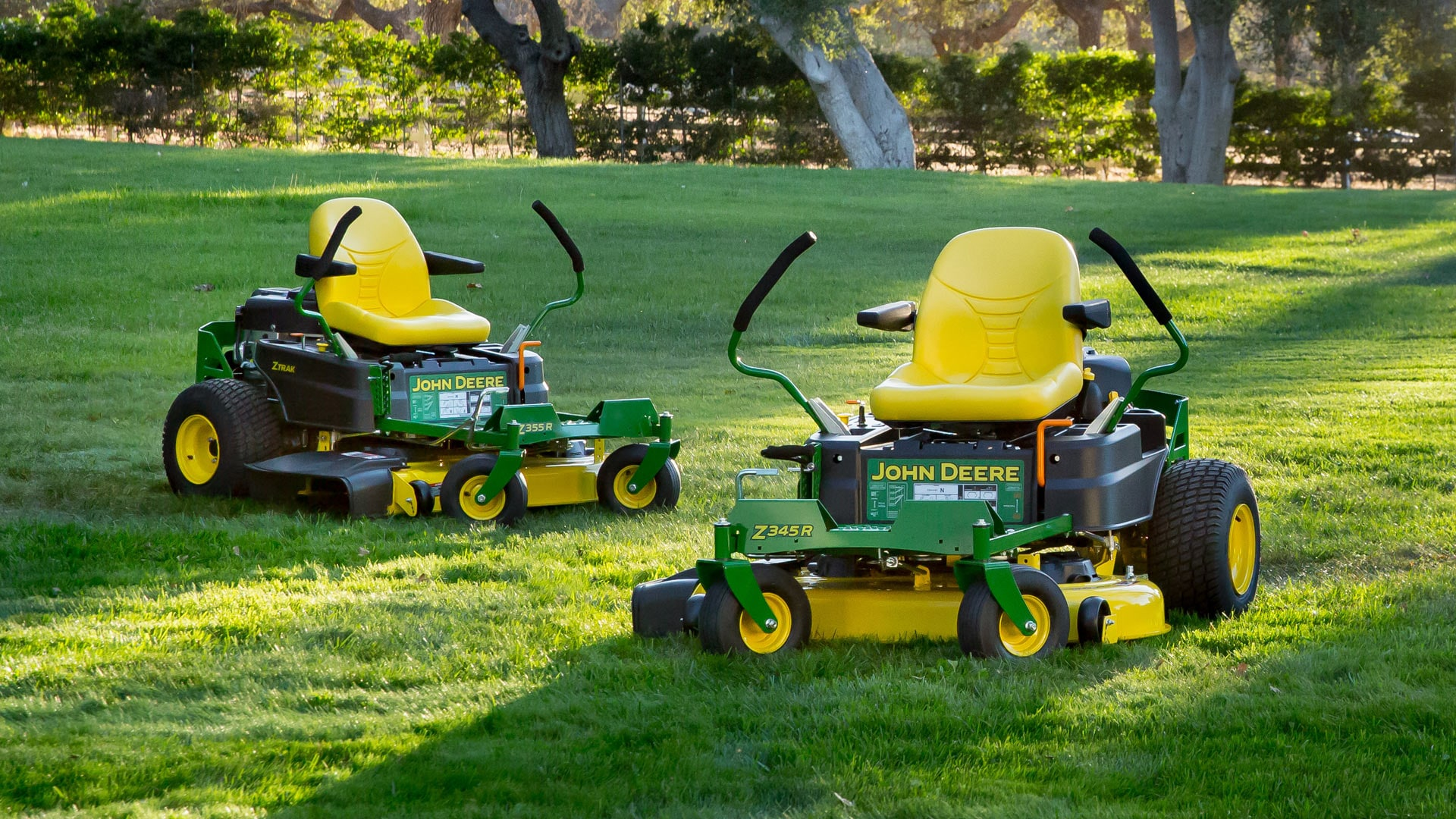 John Deere Zero Turn Mowers : Residential ztrak™ zero turn mowers john deere us