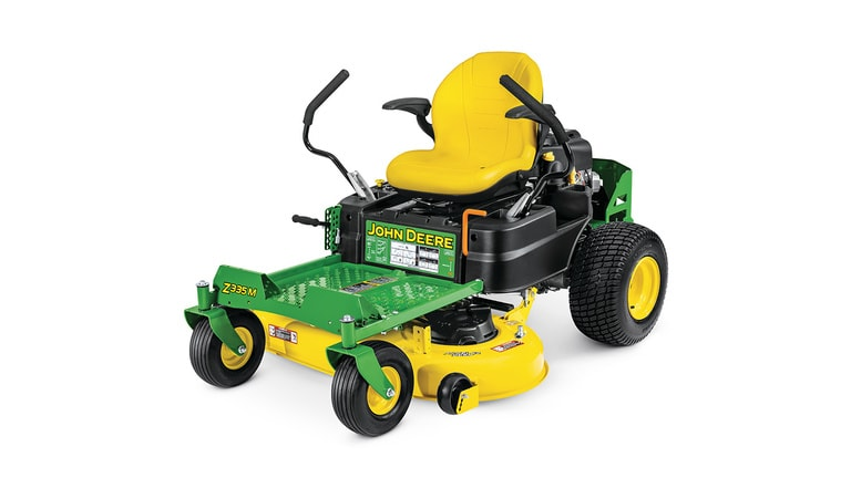 studio image of a Z335m Zero Turn mower