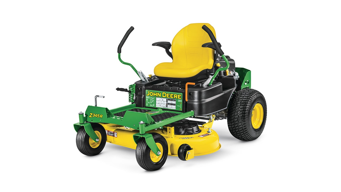 studio image of a Z345R zero turn mower