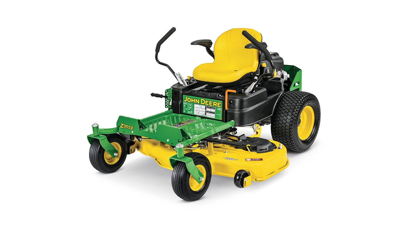 studio image of a Z355e zero turn mower