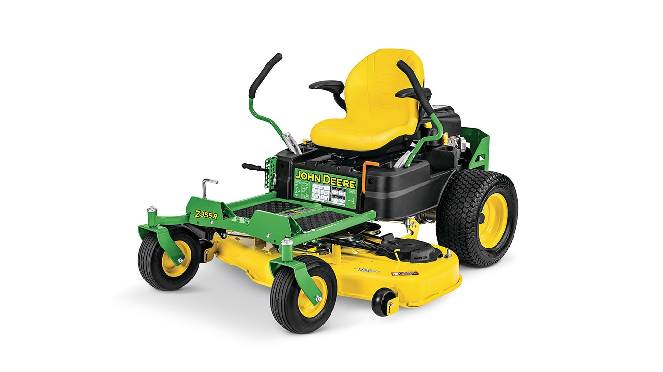 studio image of a Z355r zero turn mower