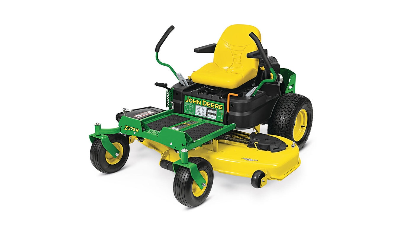 Z300 Series Ztrak Mowers Z355e 48 In Deck John Deere Us Toro Timecutter Wiring Diagram Under Seat Wires Z375r Mower With 54