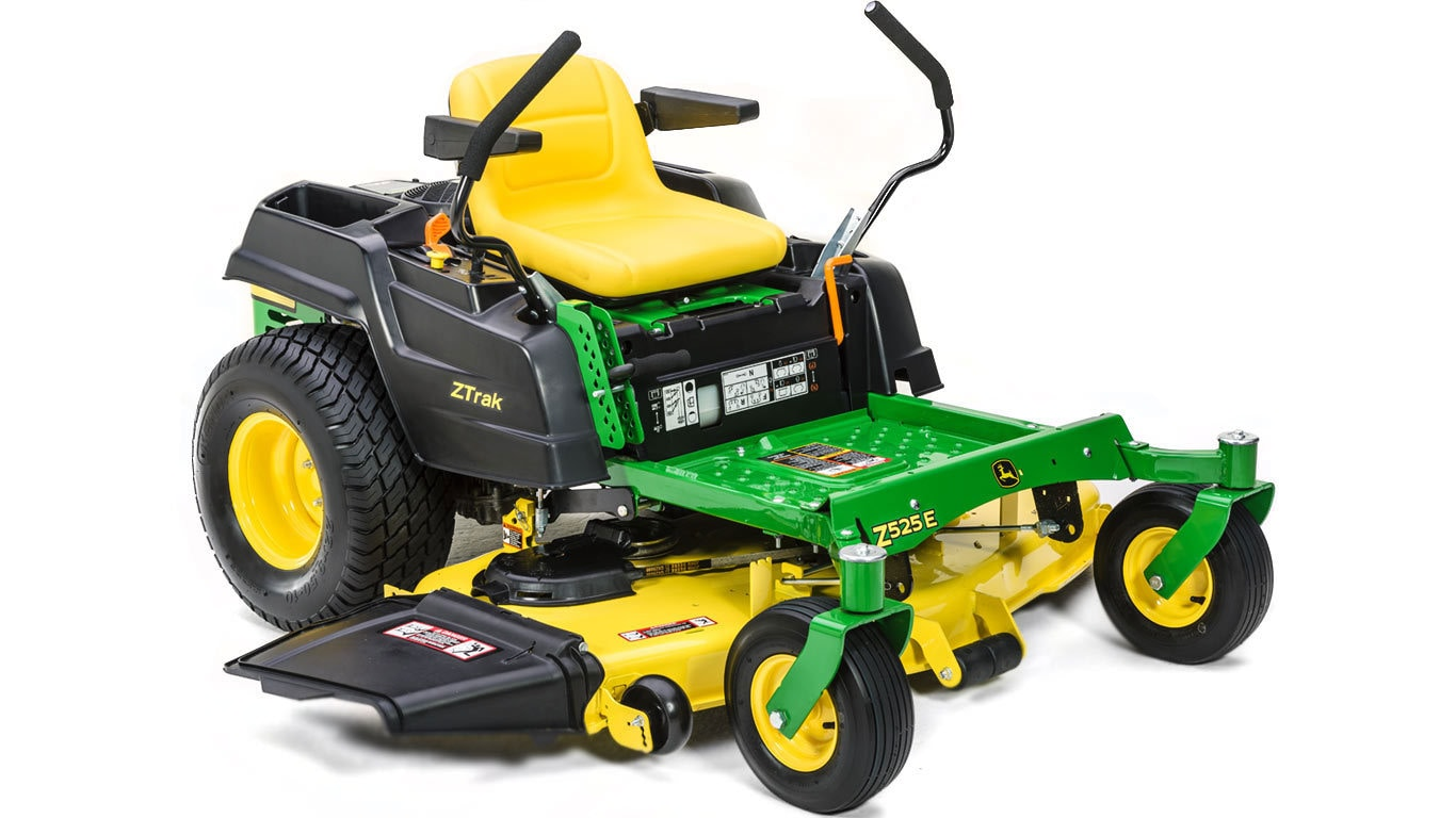 Z500 Series Ztrak Mowers Z525e 48 Or 54 In Deck John Deere Us Exmark Pto Wiring Diagram Residential Zero Turn Mower