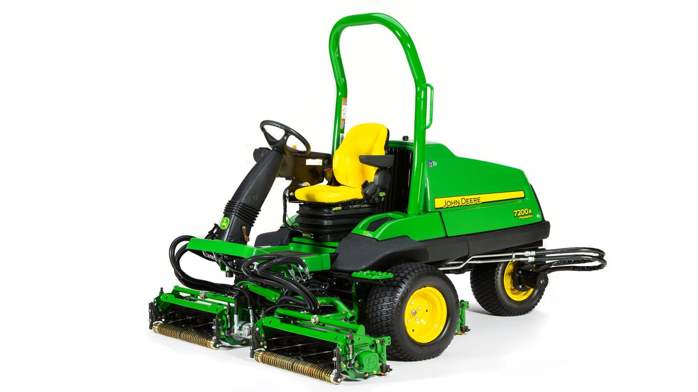 Studio image of 7200a PrecisionCut Mower