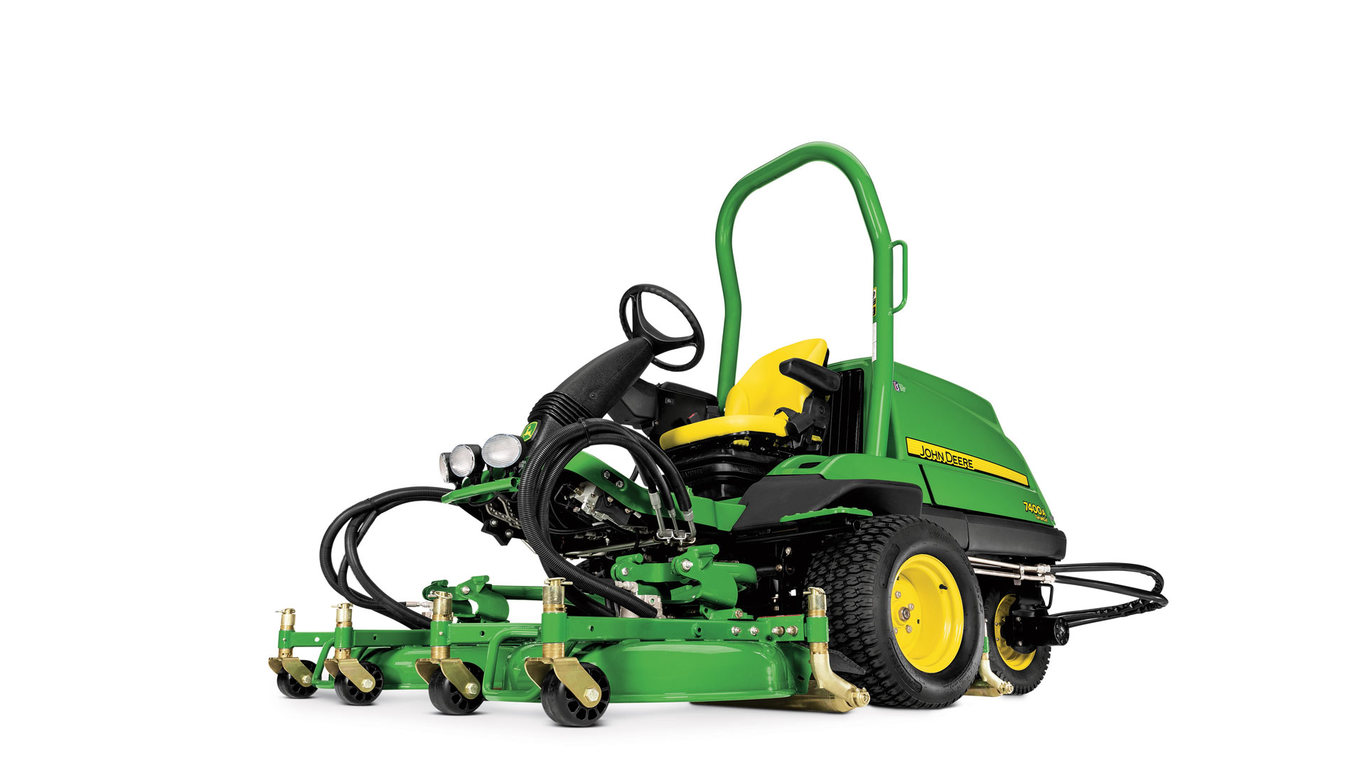 Studio image of 7400a TerrainCut Mower