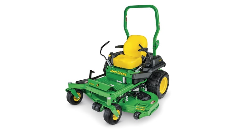 studio image of Z735e ztrak zero turn mower
