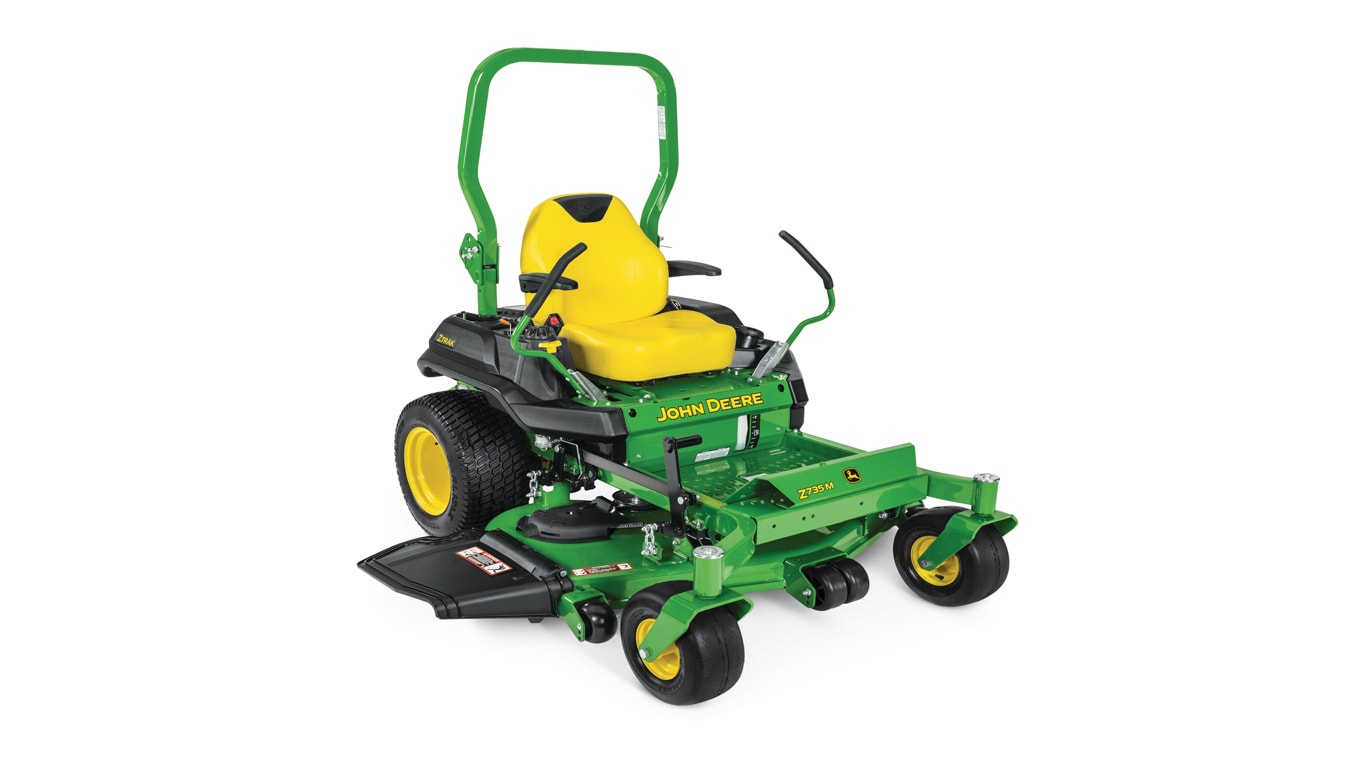 studio image of Z735m ztrak zero turn mower