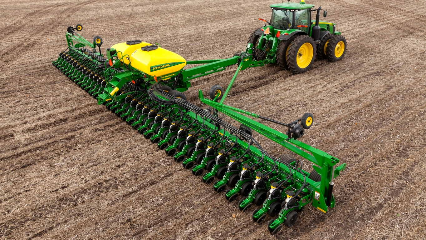 Planting Equipment 1705 Twin Row Integral Planter John Deere Us
